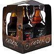 Cerveza artesana de Extremadura surtido variado 4x33 cl estuche 132 cl 4x33 cl Cerex