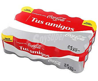 Coca-Cola Light Refresco de cola light 24 latas de 33 cl