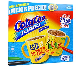Cola Cao Cacao turbo Paquete de 2,75 kg