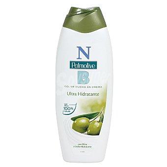 NB Palmolive Gel de ducha en crema ultra hidratante con oliva y leche hidratante 600 mililitros
