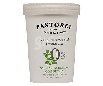 Pastoret Yogur desnatado 0% edulcorado con stevia Tarrina 500 g