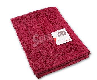 AUCHAN Alfombra de rizo 100% algdón, 1200 g/m², color rojo, 40x60 centímetros 1 Unidad