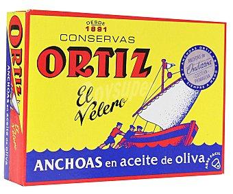 Conservas Ortiz Filetes de anchoa en aceite de oliva 50 g