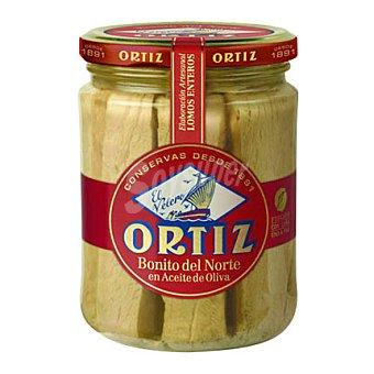 Ortiz Bonito del Norte en aceite de oliva Frasco de 280 Gramos