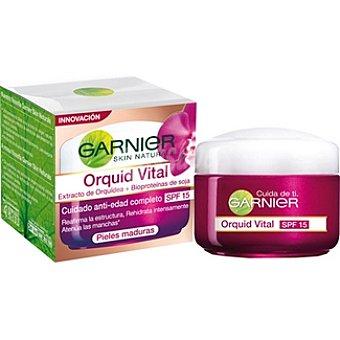 Skin Naturals Garnier Crema hidratante cuidado día anti-edad fps- 15 piel madura Tarro 50 ml