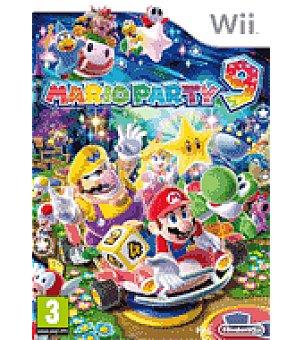 Nintendo Juego wii mario party 9 nintendo