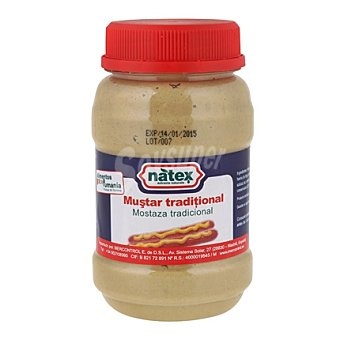 Mustar Mostaza tradicional natex 350 g