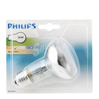 Philips Bombilla ecoclassic 28W E27 esferic P45