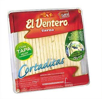 El Ventero Queso mezcla tierno cortado 250 gramos