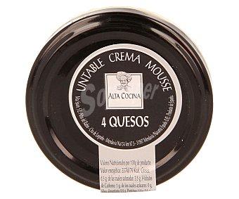 ALTA COCINA Mousse untable a los 4 quesos 115 gramos