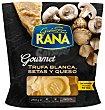 Pasta fresca rellana de trufa blanca con setas y queso  Envase 250 g Rana