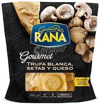 GIOVANNI RANA Pasta fresca rellana de trufa blanca con setas y queso  Envase 250 g