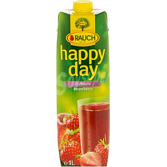 RAUCH HAPPY DAY Zumo de fresa Envase 1 l