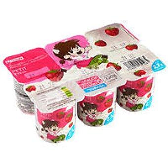 Eroski Petit Fruits con fresa Pack 6x55 g