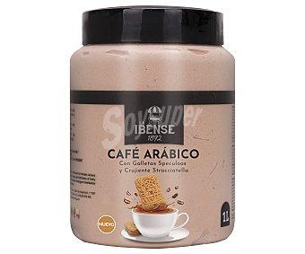 La Ibense Bornay Tarrina de helado de café arábico con galletas Speculoos y tocitos de Stracciatella 1892 1 l