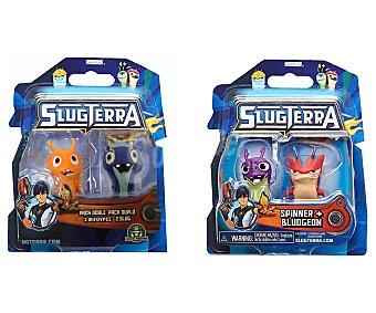 SLUGTERRA Pack de 2 Figuras Slugterra 1 Unidad
