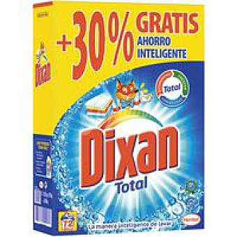 Dixan Detergente en polvo Maleta 72 dosis