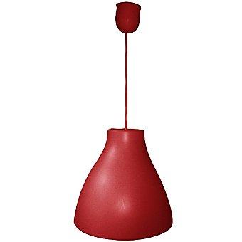 ELS BANYS Flox Lámpara de techo de PVC en color rojo con pendel