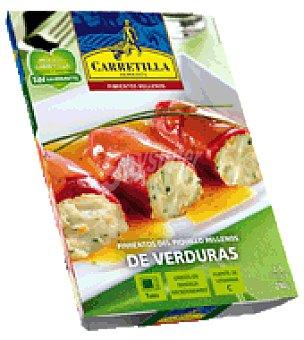 Carretilla Pimientos del piquillo rellenos de verduras 280 g
