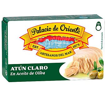Palacio de Oriente Atún claro en aceite de oliva Lata 77 g peso neto escurrido