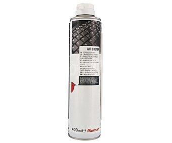 AUCHAN 400279 Limpiador de aire comprimido, 400ML de capacidad, especial para material informático, 400ML
