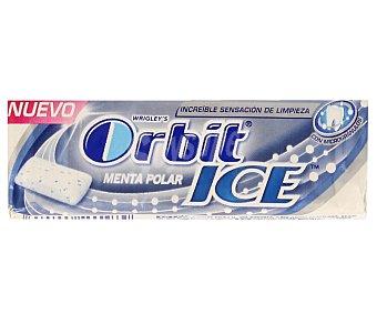 Orbit Chicles ICE menta polar Paquete de 14 g