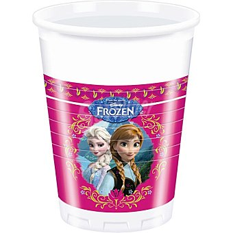 Disney Frozen Vaso decorado paquete 8 unidades 20 cl