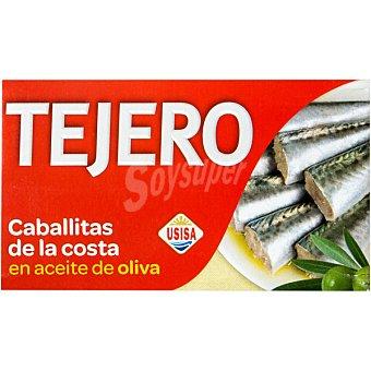 Tejero Caballitas enteras en aceite de oliva Lata 78 g neto escurrido