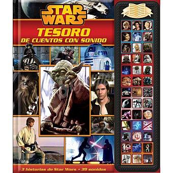 Star Wars Disney Tesoro de cuentos con sonidos