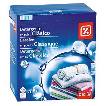 DIA Detergente máquina polvo maleta 36 cacitos 36 cacitos