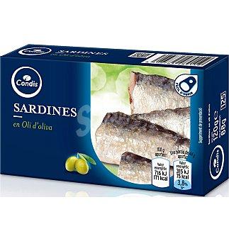 Condis Sardinas aceite de oliva 88 g