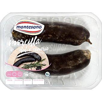 Montesano Morcilla dulce canaria sin lactosa Envase 380 g