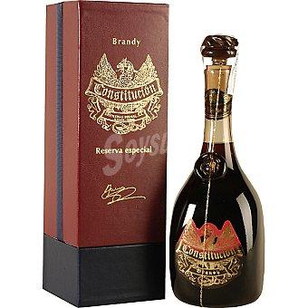 Constitucion Brandy plata edición de lujo Botella 70 cl