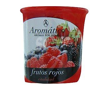 Aromático Vela perfumada con olor intenso de fresa 1 Unidad