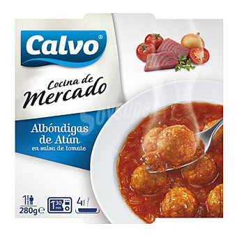Calvo Albóndigas de Atún en Salsa de Tomate Tarrina 280 gr