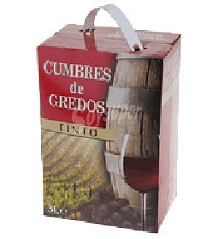 Cumbres de Gredos Vino tinto bag in box 3 l