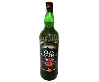 Clan Campbell Blended Whisky Escocés Botella de 1 Litro