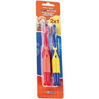 Kin Cepillo infantil Bimat Pack de 2 unidades