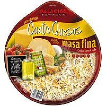 Palacios Pizza de 4 quesos 1 unid
