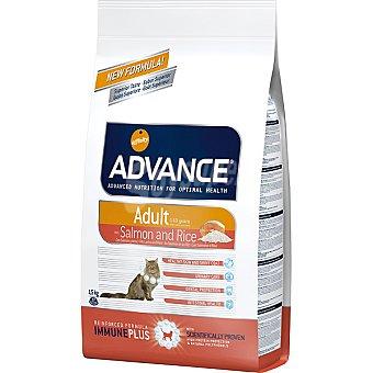 Advance Affinity Alimento de alta gama para gatos adultos de 1 a 10 años rico en salmón y arroz Adult Bolsa 1,5 kg