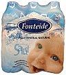 Agua mineral natural Pack 6 x 500 ml - 3000 ml Fonteide