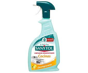 Sanytol Desengrasante limón sin lejía pistola 750 ml