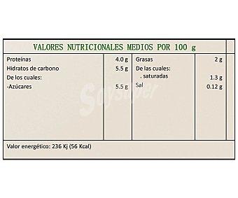 Vrai Yogur natural con Bífidus biológico Pack 4 unidades 125 g