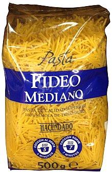 Hacendado Fideo mediano pasta Paquete 500 g