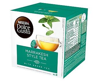 Dolce Gusto Nescafé Infusión en cápsulas de té Marrakesh 16 uds. 116,8 g