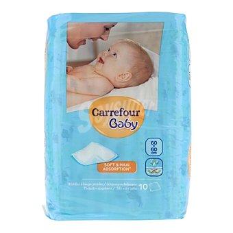Carrefour Baby Protegecamas 60 x 60 cm. 10 ud