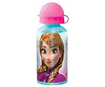 Disney Botella infantil de aluminio con diseño de Frozen, 0,4 litros de capacidad, modelo Frozen Timeless 1 unidad