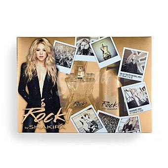 Shakira Lote mujer rock eau de toilette (vaporizador 50 ml) + desodorante (spray 150 ml) Estuche 2 u
