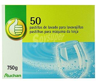Productos Económicos Alcampo Detergente Lavavajillas Automática Pastillas Lavavajillas 50 pastillas