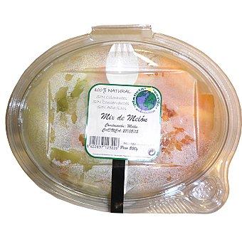 PLANETA VERDE mix de melón pelado y cortado (contiene tendedor) tarrina 500 g Tarrina 500 g